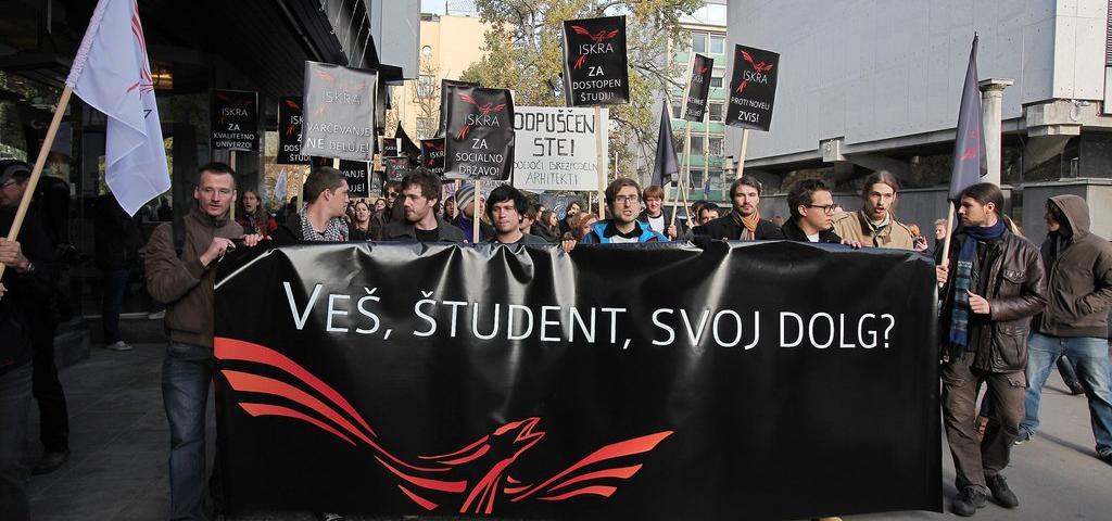 Demonstracije 17. 11. 2012